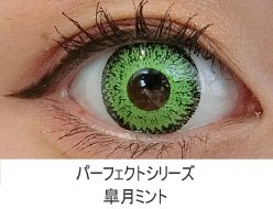 ドルチェコンタクトパーフェクトシリーズ 皐月ミント